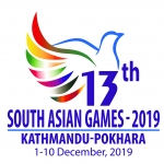 South Asian Games [Women's Football] logo