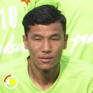 Football player Santosh Tamang