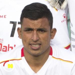 Football player Santosh Katuwal