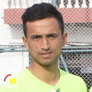 Football player George Prince Karki