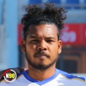 Football player Ranjit Dhimal
