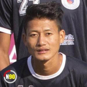 Football player Shakti Rai