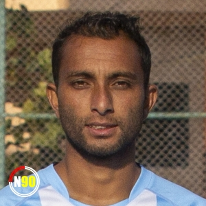 Football player Suraj Bishwokarma