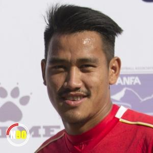 Football player Deep Karki
