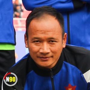 Football player Deepak Gurung